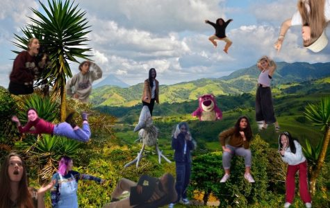 A picture Abby Y. '20 created in memory of the Costa Rica Interim.