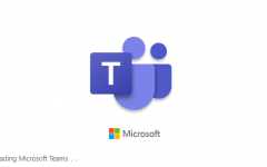 Microsoft Teams app loading screen.