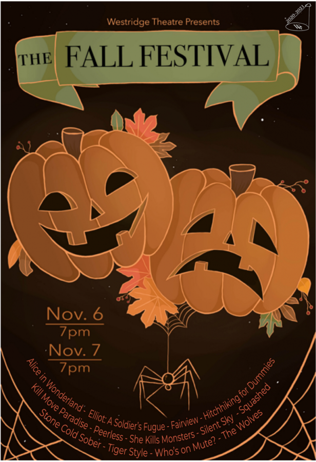 Fall Festival Poster Art by Adeline K. '24