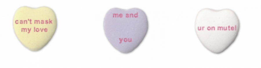 Conversation Hearts For A Valentine's Day In Quarantine