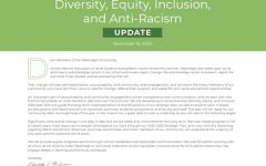 Part of the November 2020 DEI and Anti-Racism update. It starts with a letter from Elizabeth McGregor, Head of School.