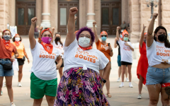 Protest against SB 8 at the Capitol in Austin, Texas. (Jay Janner/Austin American-Statesman/Associated Press)