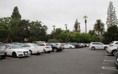 The State Street parking lot is nearly always full during school days. (Katie S. 23)